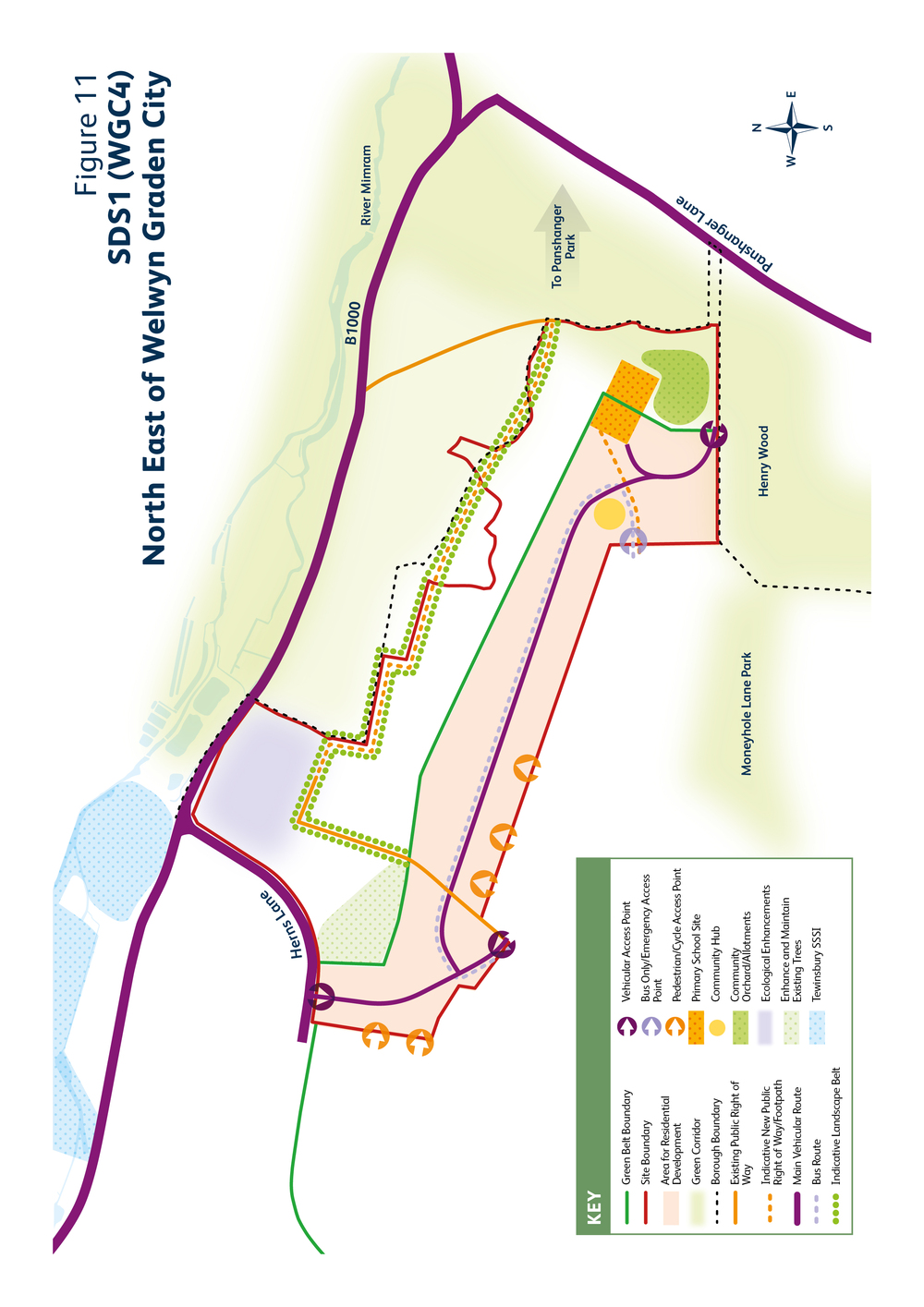 Welwyn Hatfield Draft Local Plan Proposed Submission Document 2016 Vision And Objectives For Welwyn Garden City